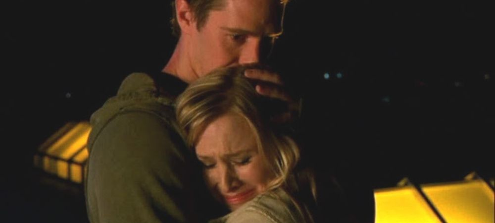 Best LoVe moments on Veronica Mars: Logan and Veronica on the Neptune Grand rooftop