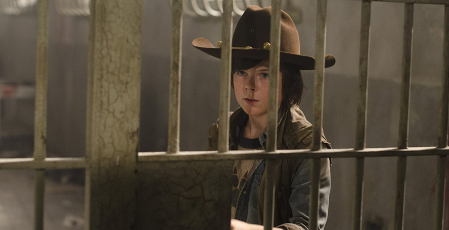 The Walking Dead Carl 3x02