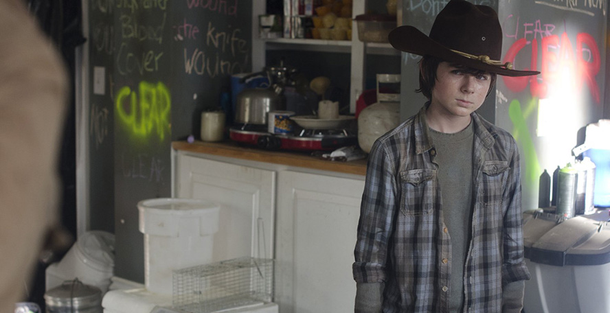 The Walking Dead Carl 3x12