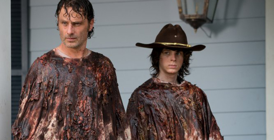 The Walking Dead Carl 6x08