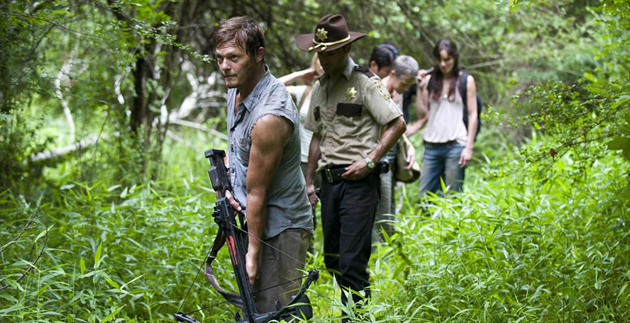 The Walking Dead Daryl 2x01