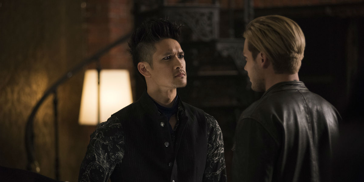 Shadowhunters 3x08 Magnus Bane and Jace