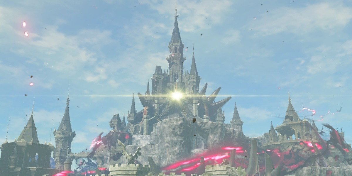 breath of the wild hyrule castle