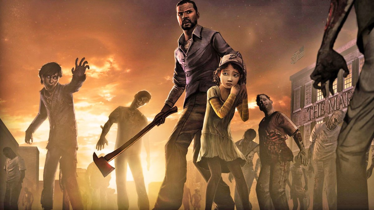 choose your own adventure games telltale's the walking dead season 1