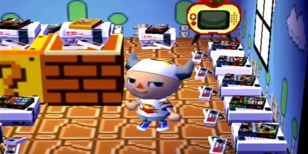 animal crossing switch nes games