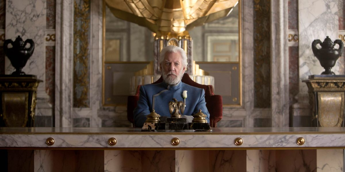 The Hunger Games quotes President Snow