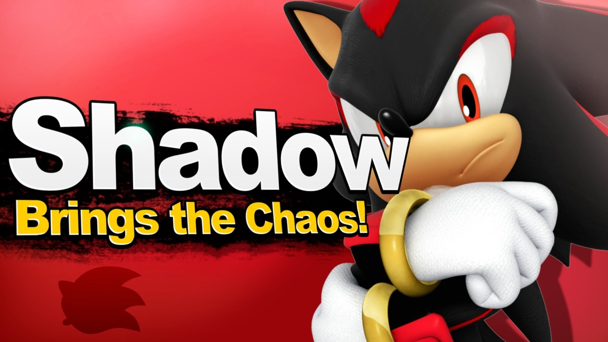 new smash characters shadow the hedgehog