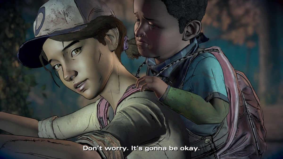 telltale's the walking dead best moments aj