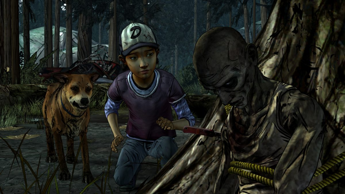 telltale's the walking dead best moments dog