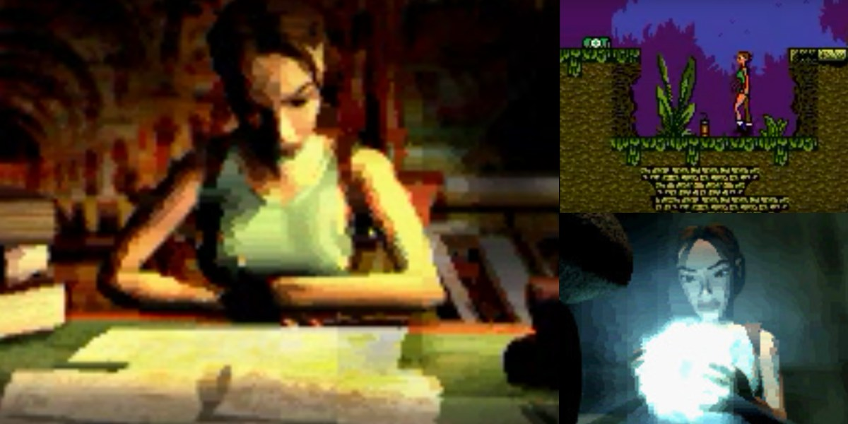 tomb raider gbc gameplay