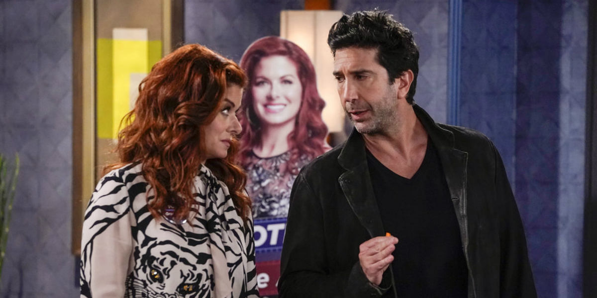 Will and Grace season 10 episode 1 david schwimmer