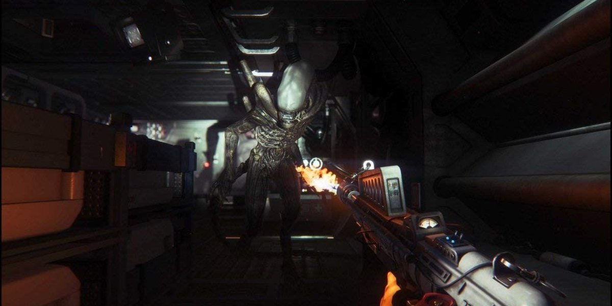 scariest video games alien isolation