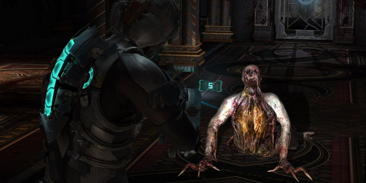 scariest video games dead space