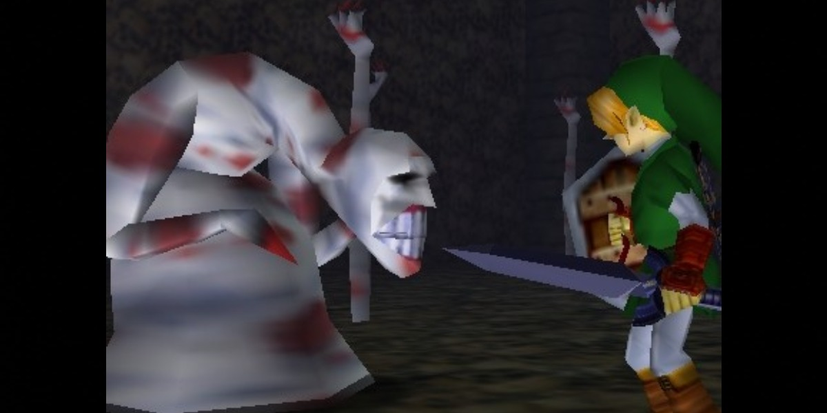 scariest video games ocarina of time