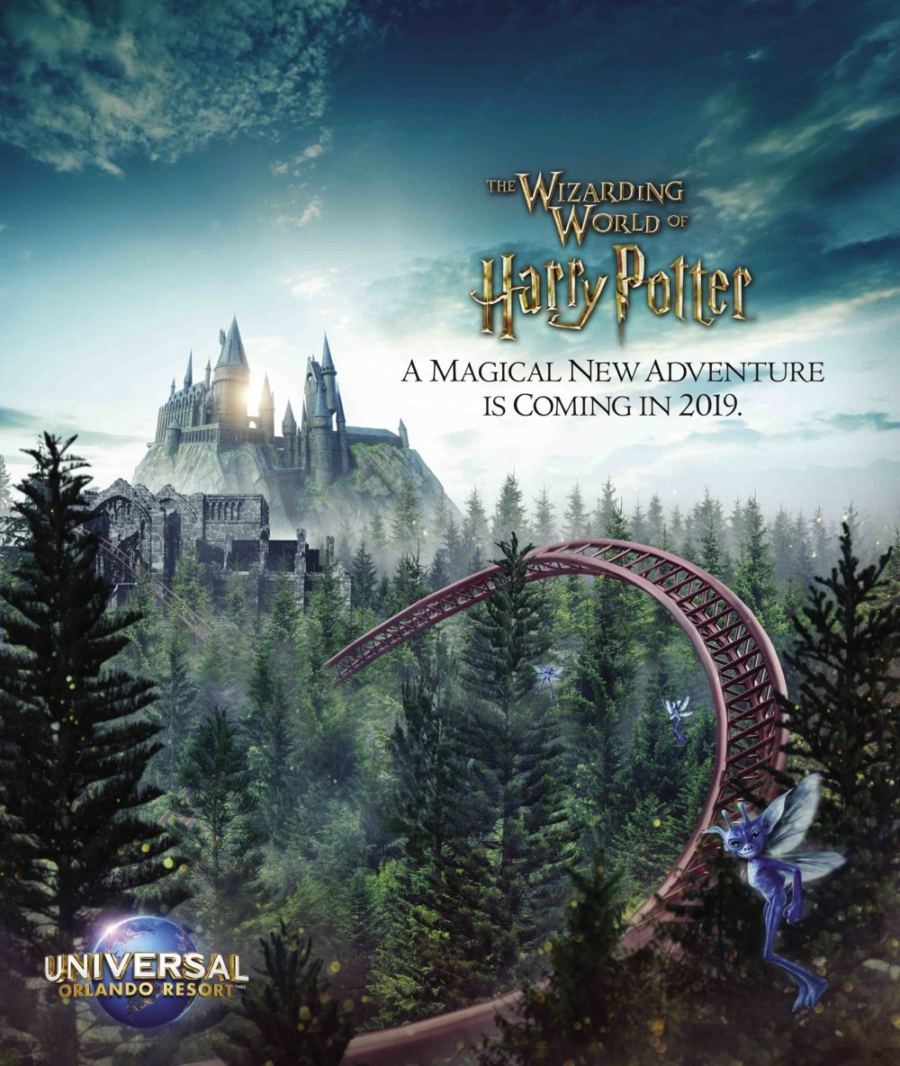 Wizarding World of Harry Potter 2019 ride