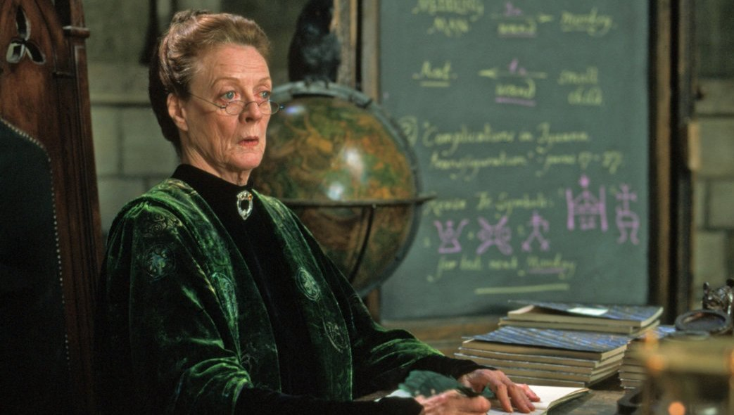 How old is McGonagall