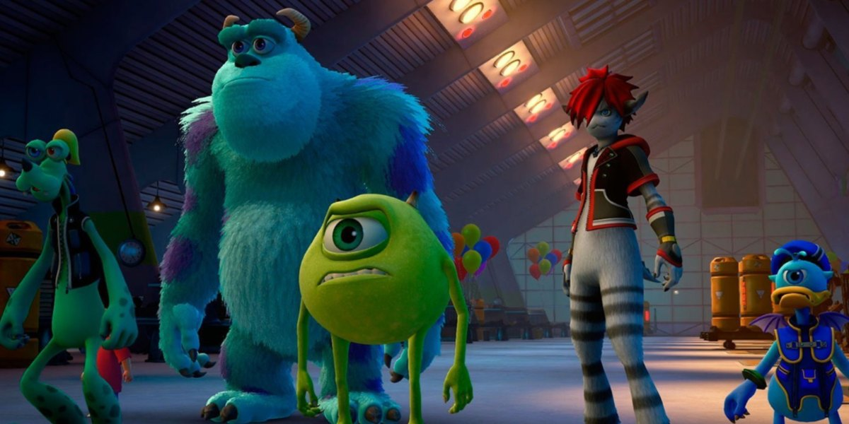 kingdom hearts 3 worlds guide monsters inc