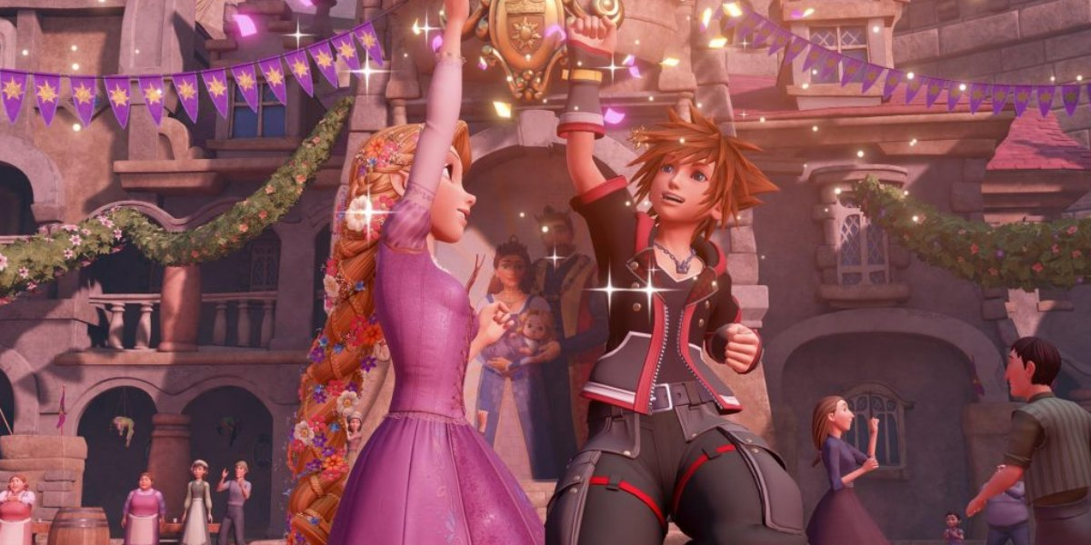 kingdom hearts 3 worlds guide tangled