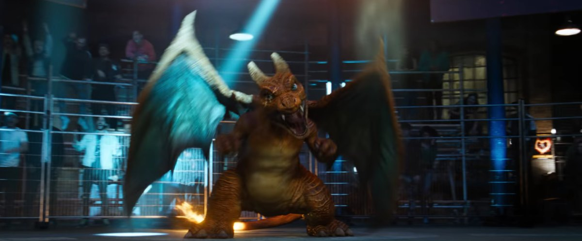 live-action pokemon charizard detective pikachu