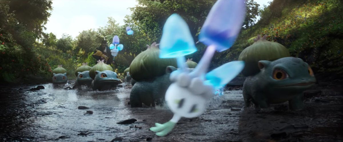 live-action pokemon detective pikachu bulbasaur