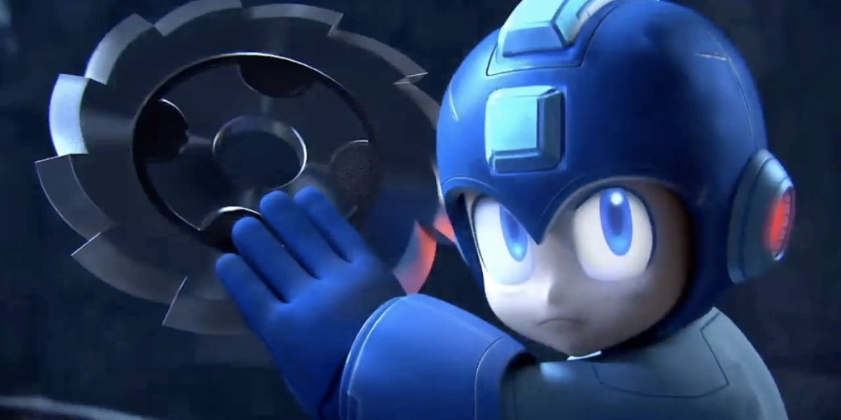 smash 4 mega man
