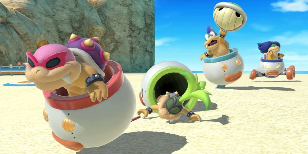 smash bros ultimate review koopalings