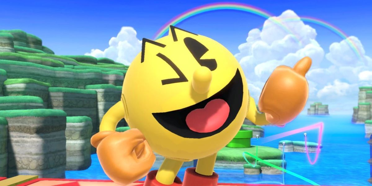 smash bros ultimate review pacman