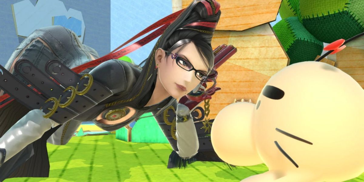 smash bros. ultimate review bayonetta