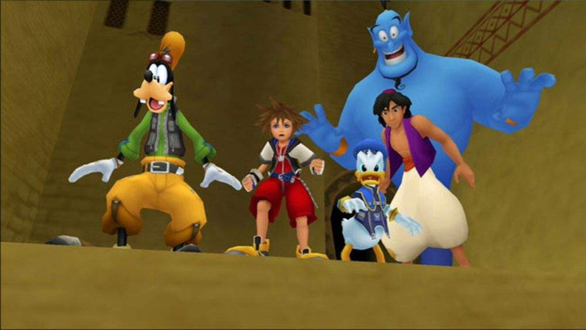 kingdom hearts 1 aladdin
