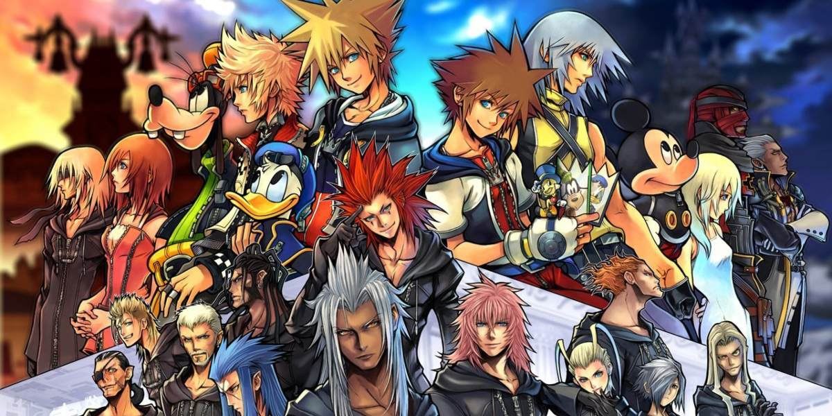 kingdom hearts series recap cast