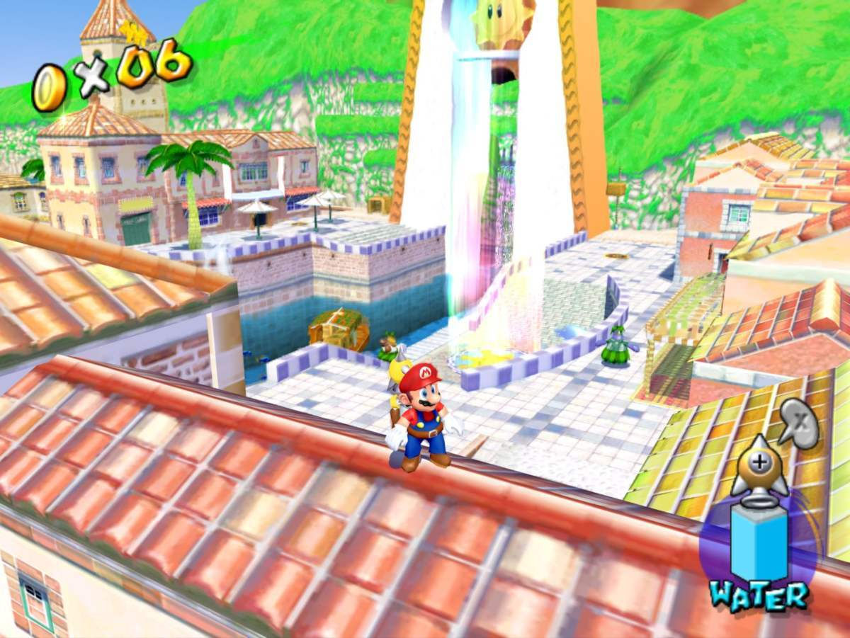 super mario sunshine 2 delfino plaza