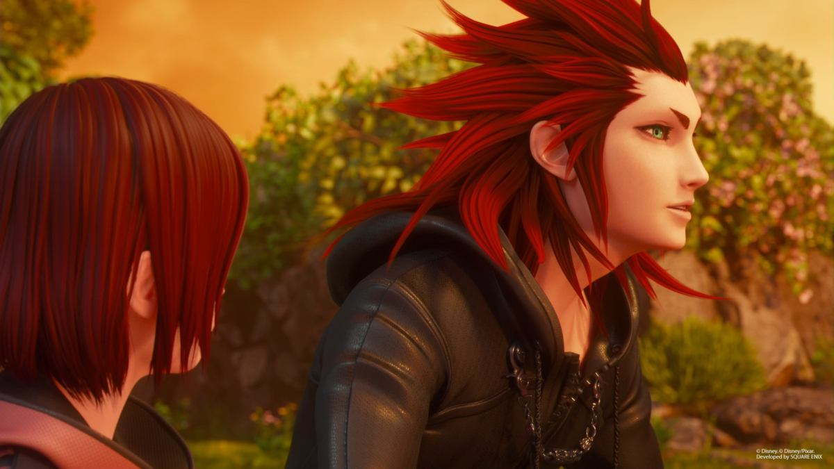 kingdom hearts 3 review axel