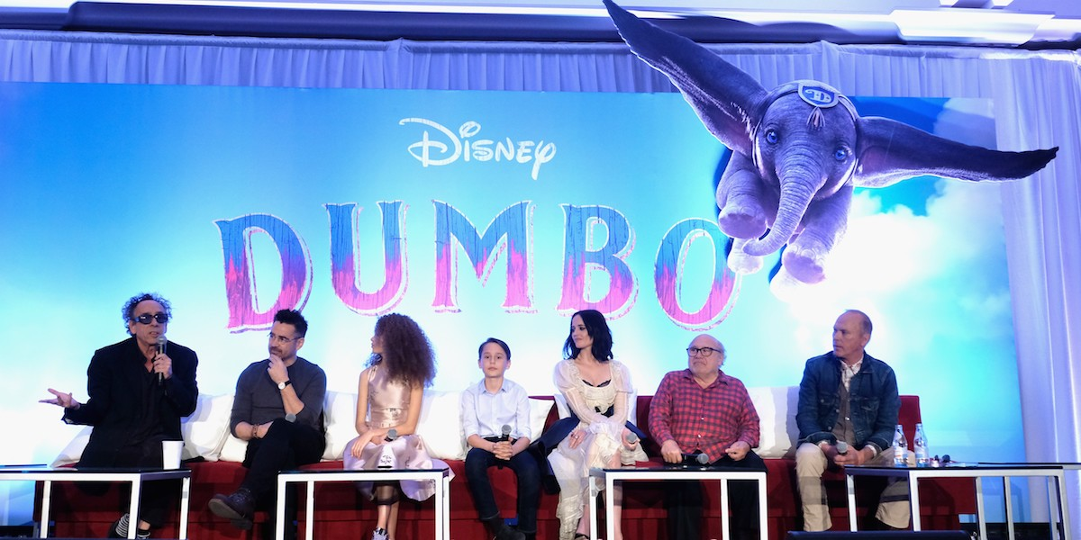 Dumbo 2019 press conference
