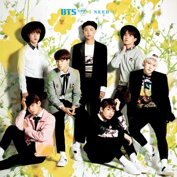 BTS I Need You album cover