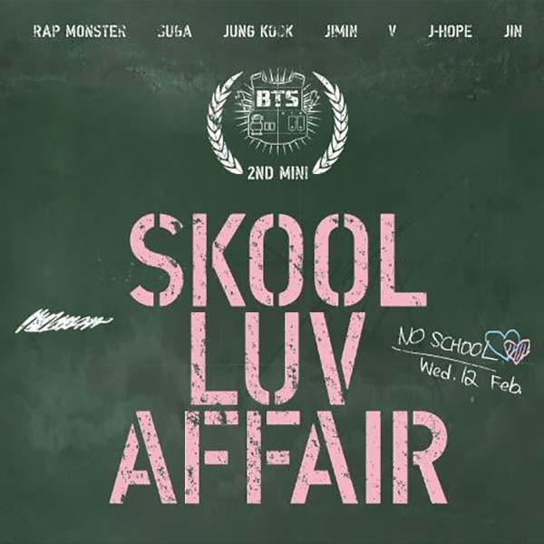 BTS Album Skool Luv Affair
