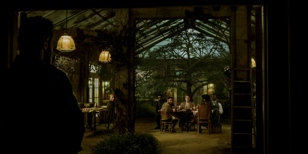 American Gods 2x07 sweeney final dinner