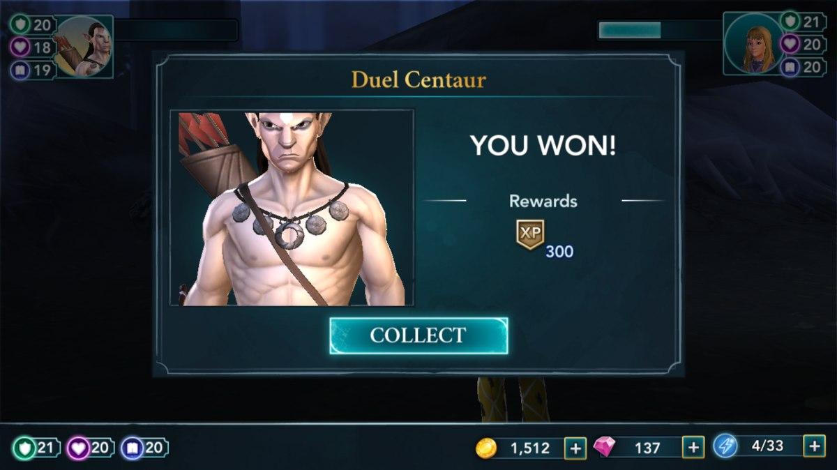 harry potter mmo centaur