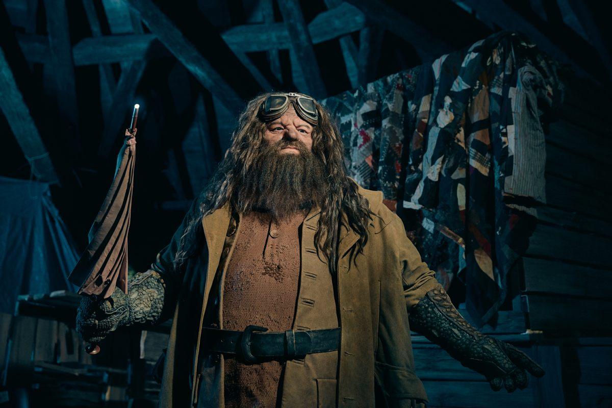 Hagrid animatronic at Universal Orlando