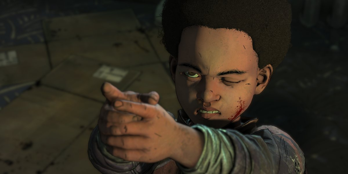 telltale's the walking dead aj