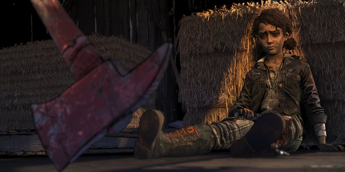 telltale's the walking dead does clementine die