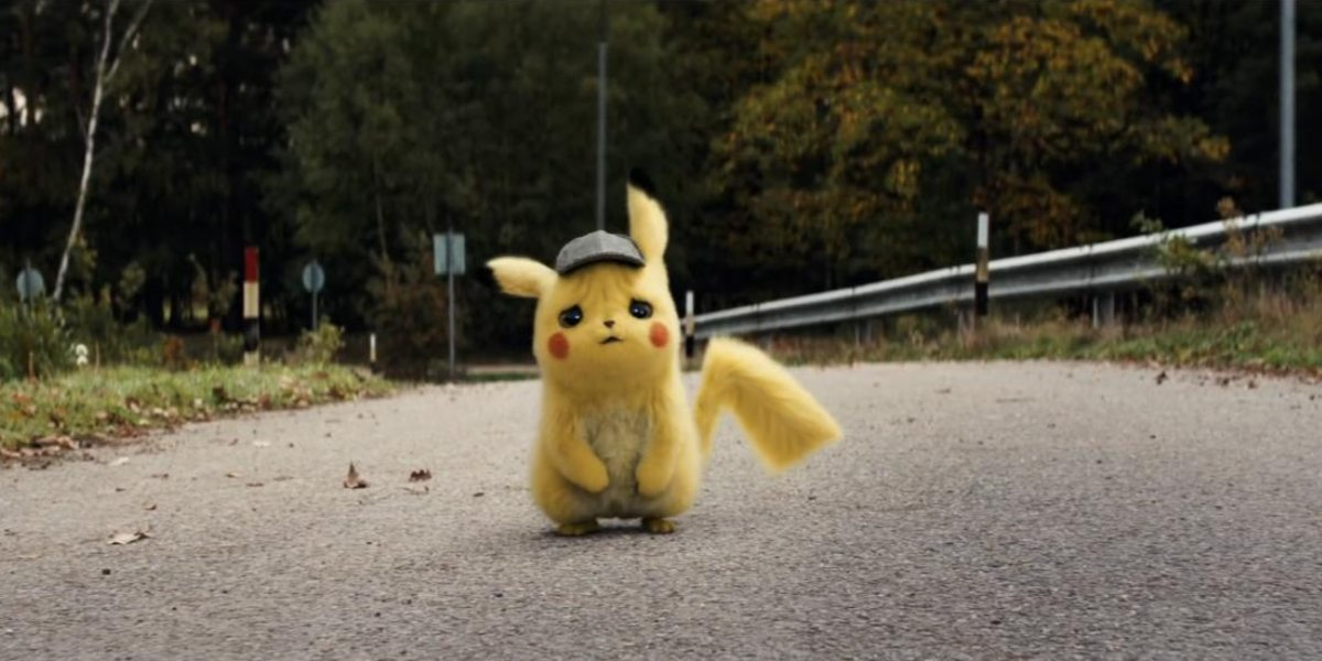 detective pikachu easter eggs theme song
