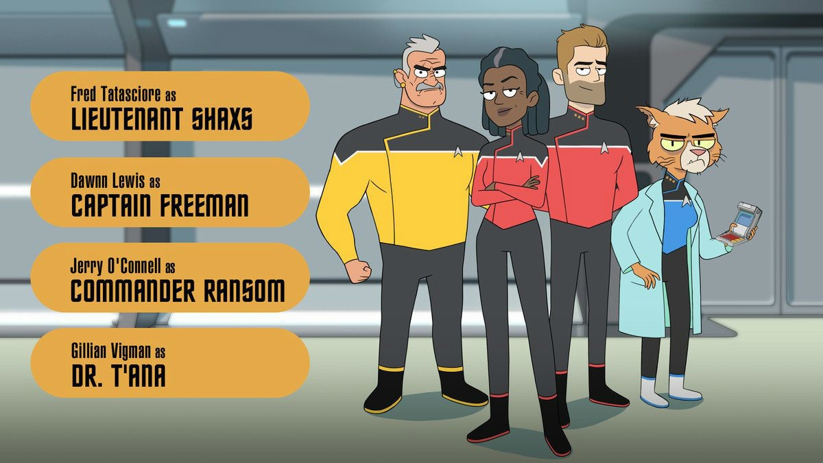 Star Trek Lower Deck art