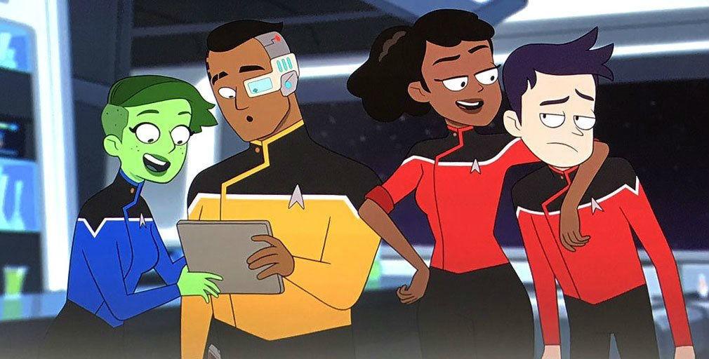 Star Trek Lower Decks Art Crew