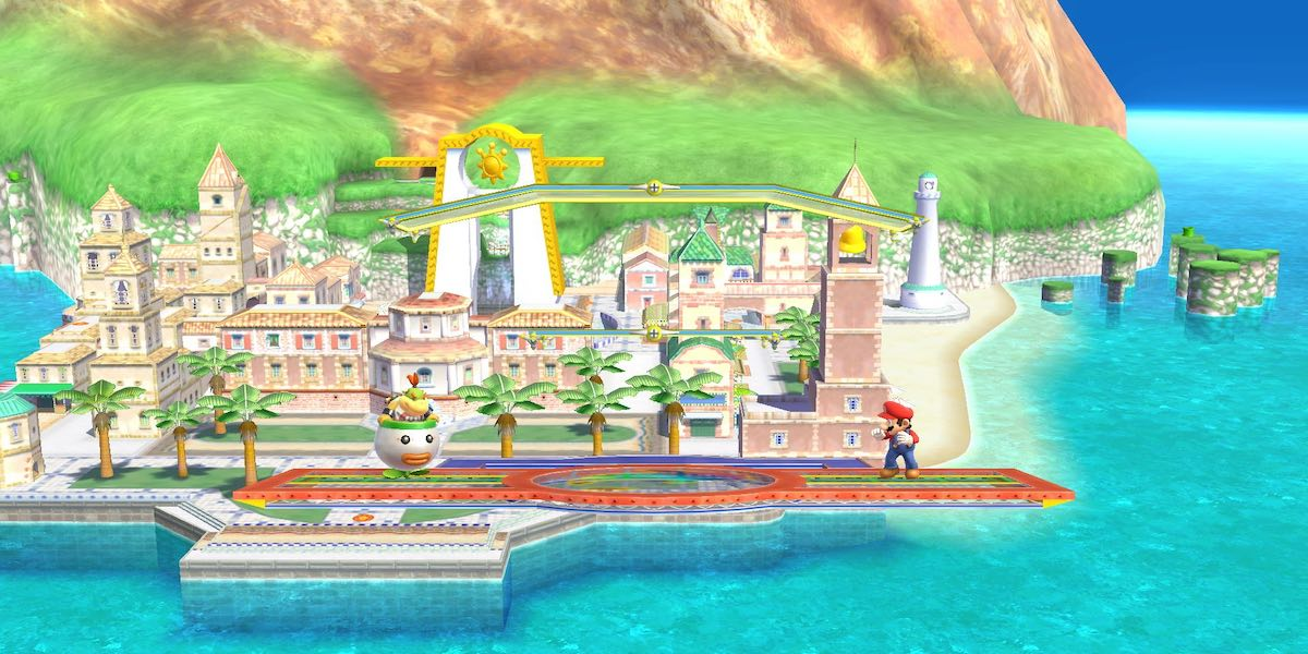 mario sunshine 2 smash bros