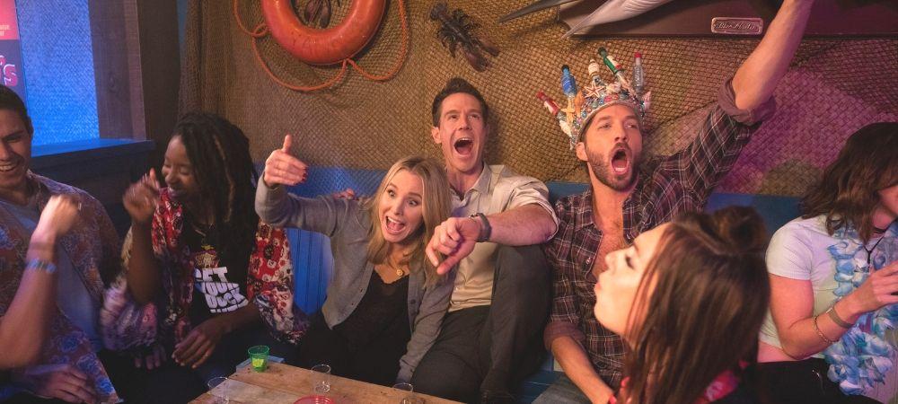 'Veronica Mars' season 4 -- The gang's night out
