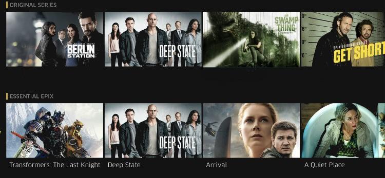 Swamp Thing season 2 on Epix