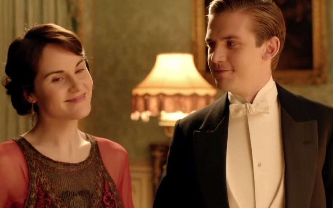 Mary and Matthew Downton Abbey