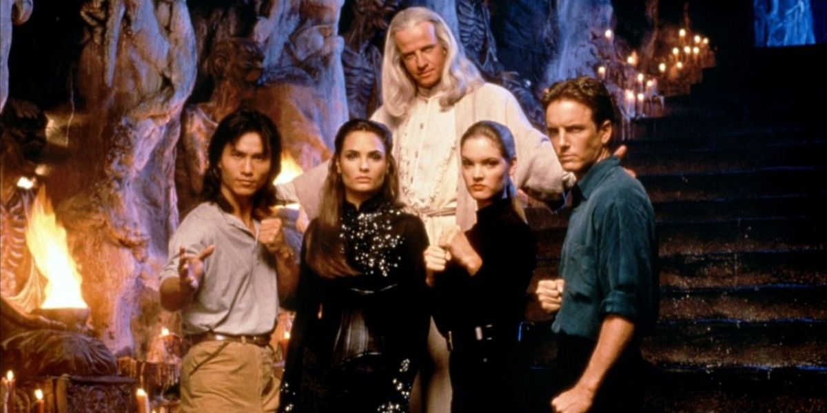 mortal kombat 1995 cast
