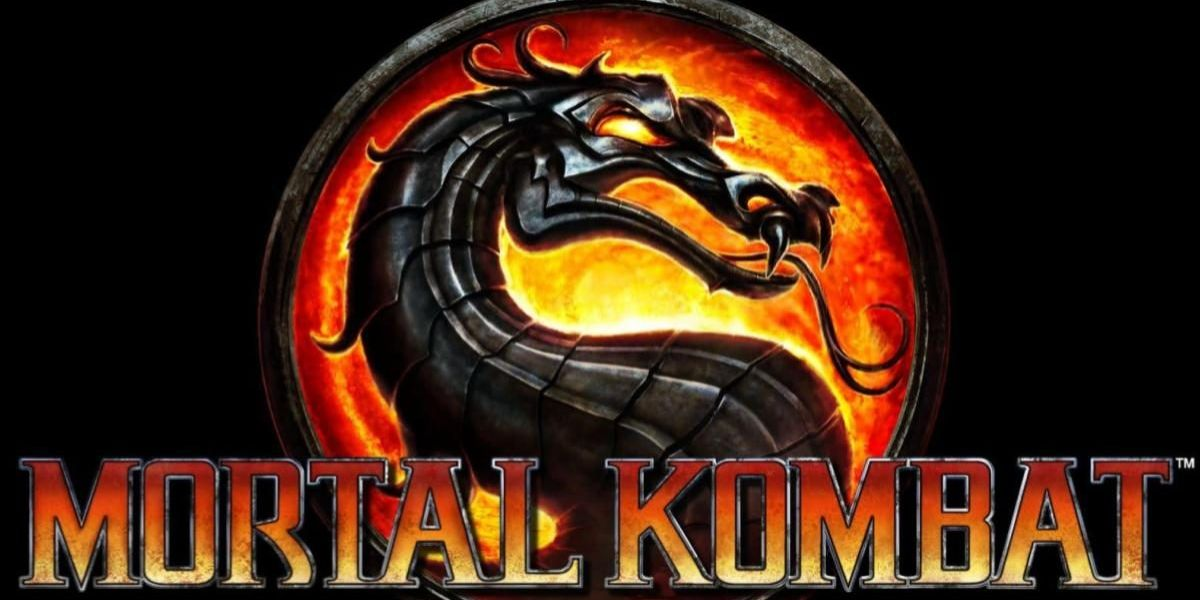 mortal kombat logo old