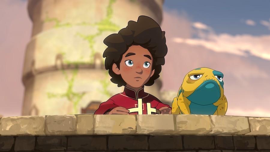 the dragon prince season 3 ezran bait
